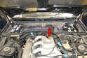 You are going to have to remove the blower motor and housing to get access to the wiper motor and arm assembly (red arrow).