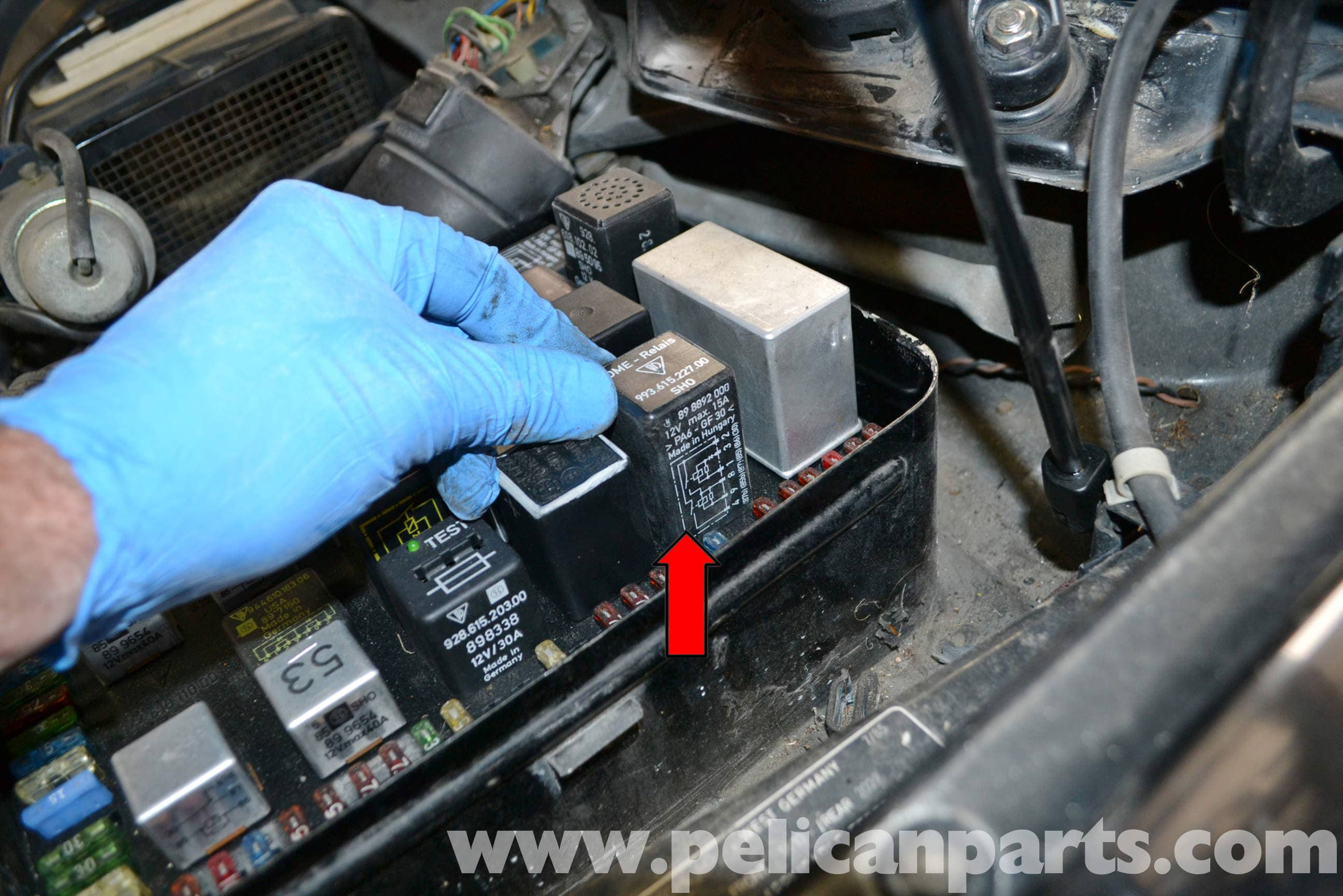 Porsche 944 Turbo DME Relay Troubleshooting (1986-1991