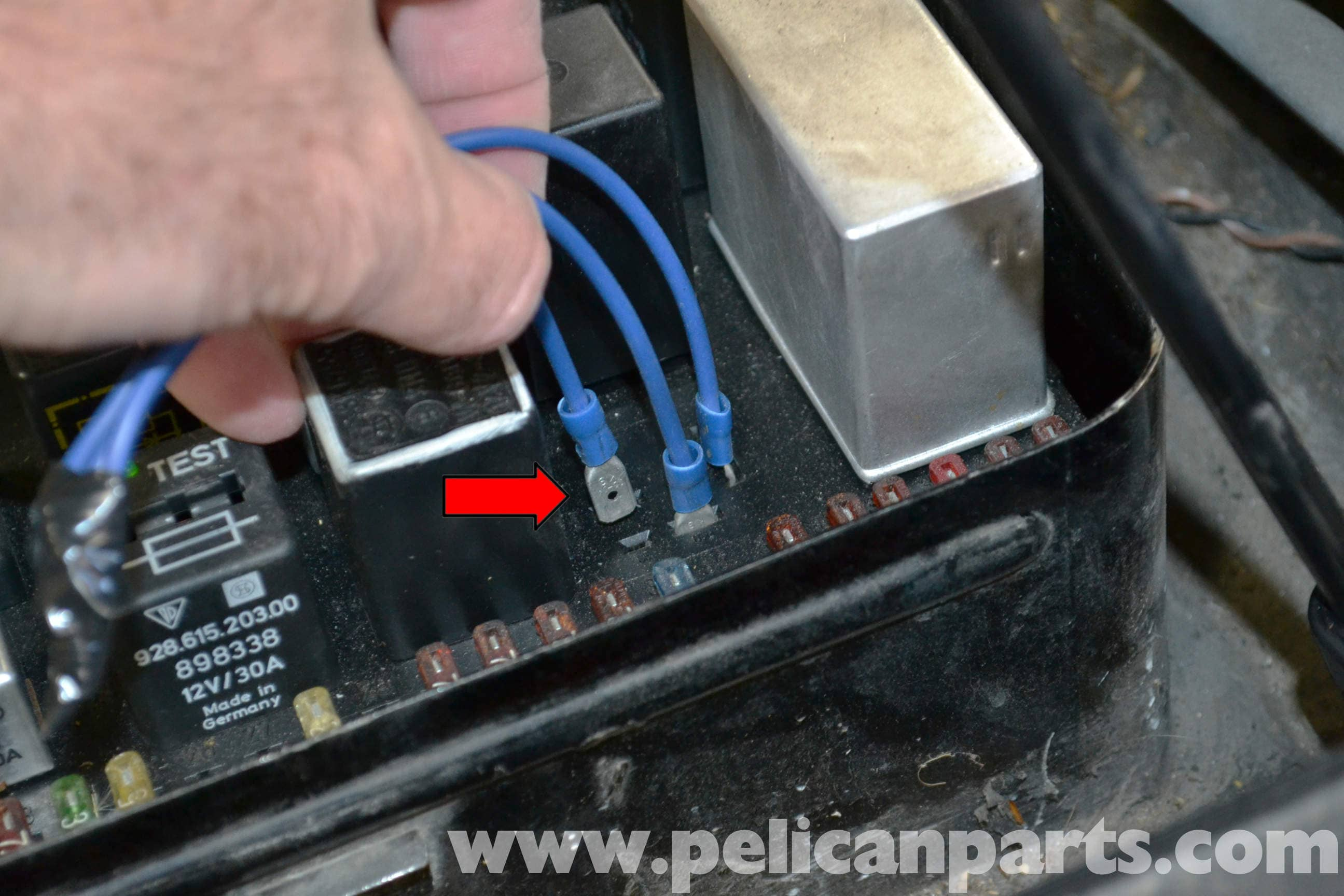 Porsche 944 Turbo DME Relay Troubleshooting 19861991 Pelican