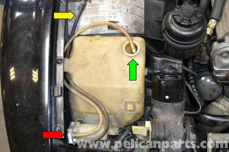 Porsche 944 Turbo Headlight And Windshield Washer Pump