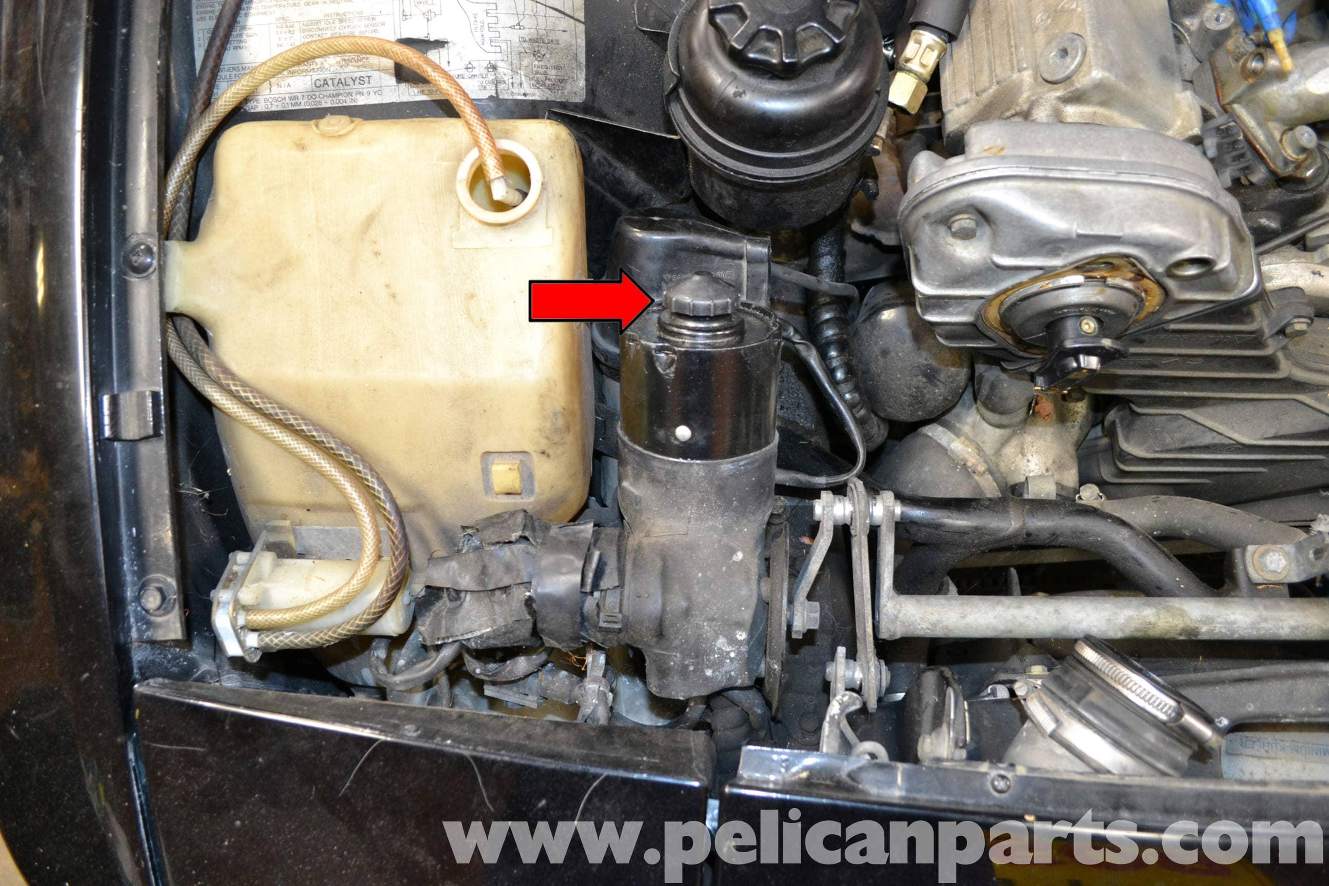 porsche 944 turbo windshield washer reservoir replacement 1986 1991 rh pelicanparts com 1984 porsche 944 service manual pdf 1984 porsche 944 service manual