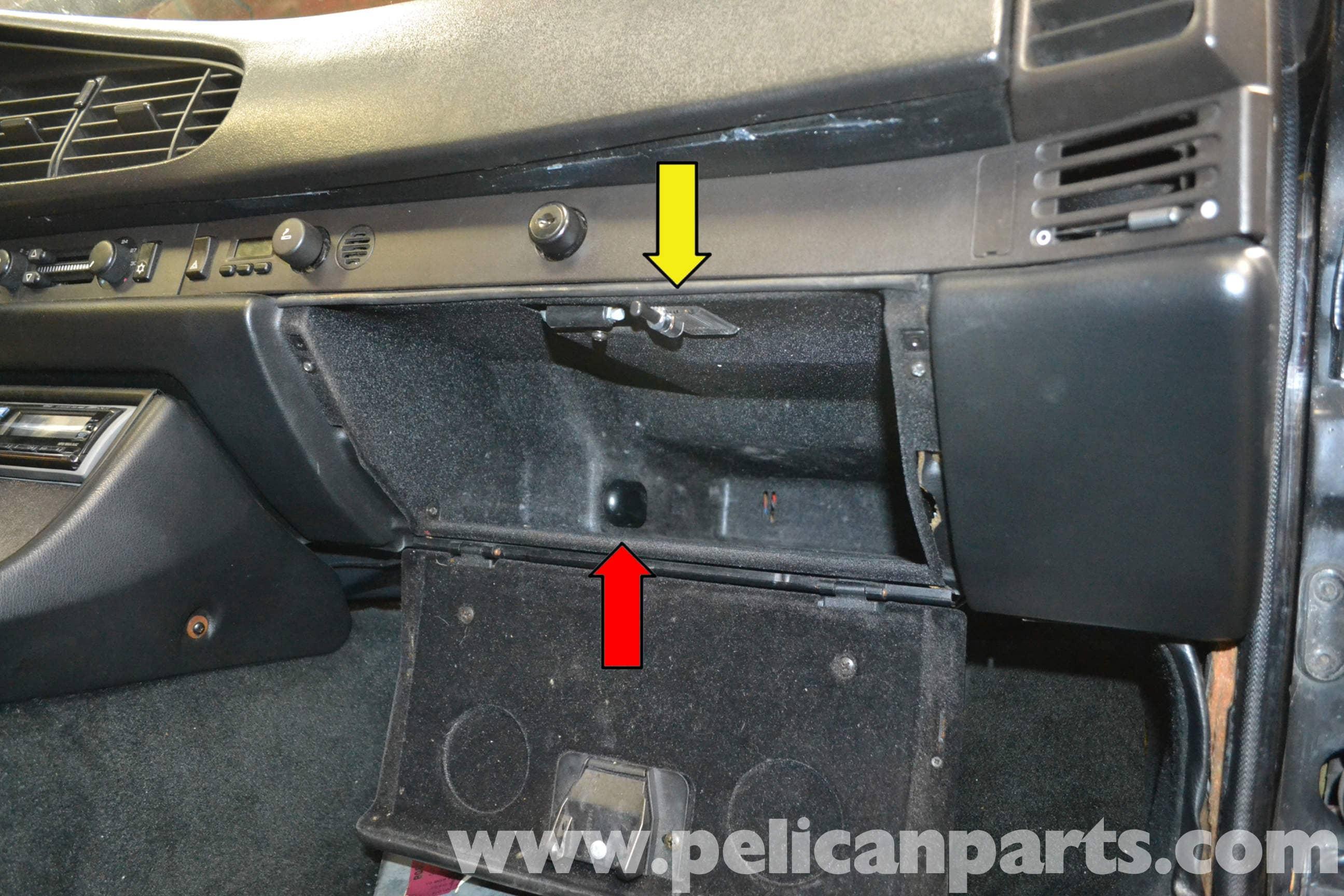 Porsche 944 Turbo Glove Box Removal (1986-1991) | Pelican Parts DIY