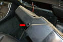 Slide the insert box out from the dash.