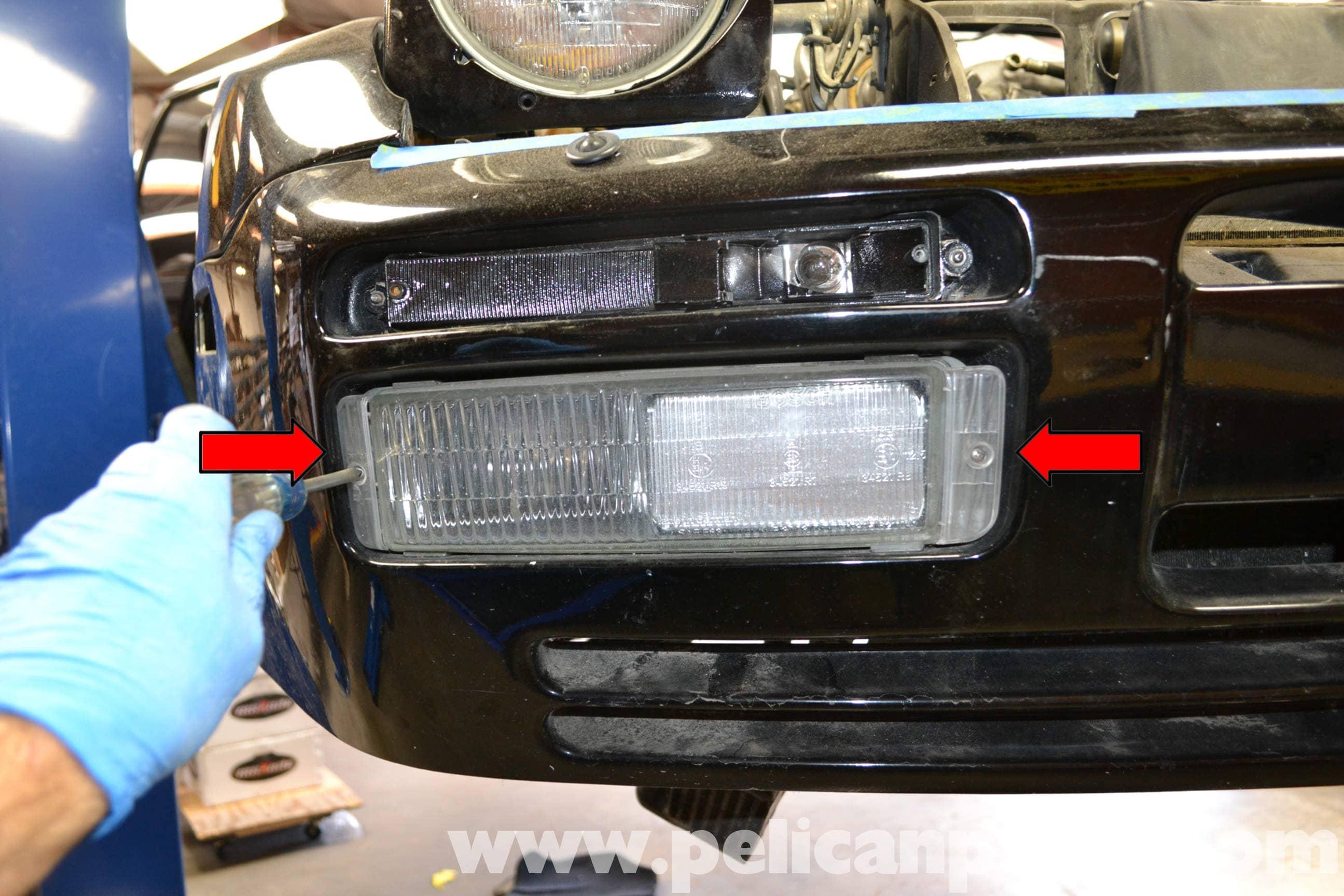 Porsche 944 Turbo Exterior Light Bulb Replacement 1986 1991 Pelican Parts Diy Maintenance
