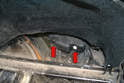 Rear Side Turn Signal- Access to the rear turn signals is through the rear hatch.