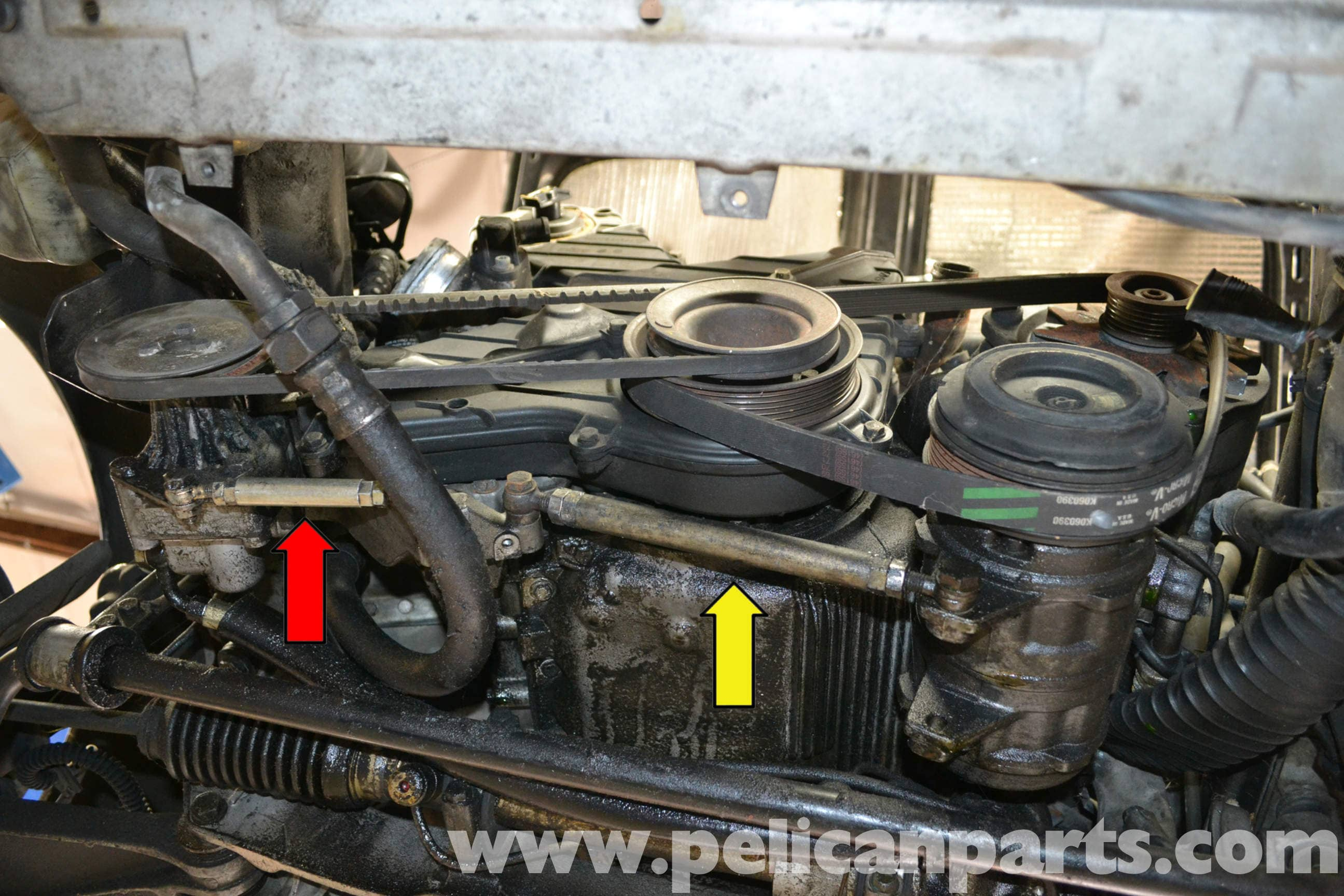 Porsche 944 Turbo Accessory Belts Replacement 1986 1991 Pelican Timing Belt Large Image