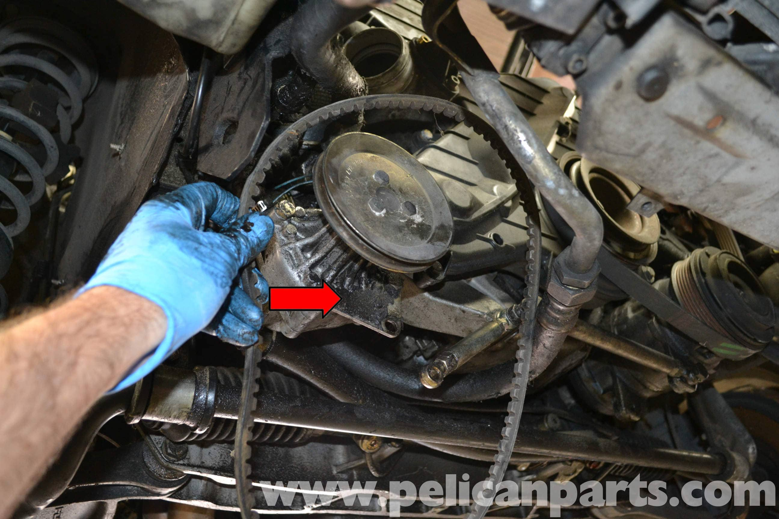 porsche 944 turbo oil pressure sensor replacement  1986