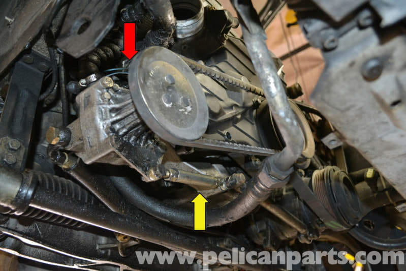 Porsche 944 Turbo Power Steering Pump Replacement 1986