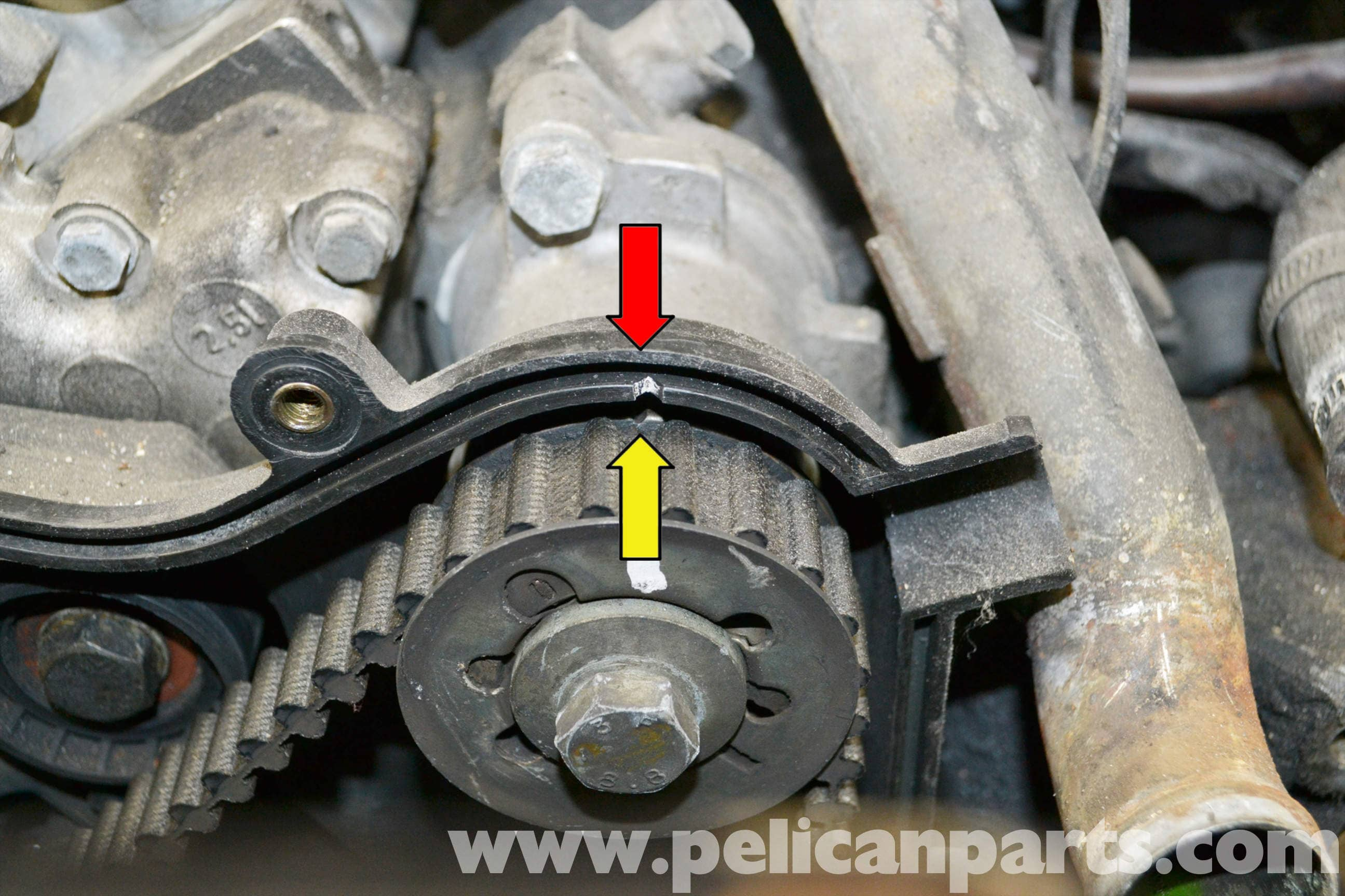 Porsche 944 Turbo Balance Shaft Belt Replacement 1986 1991 Timing Large Image Extra
