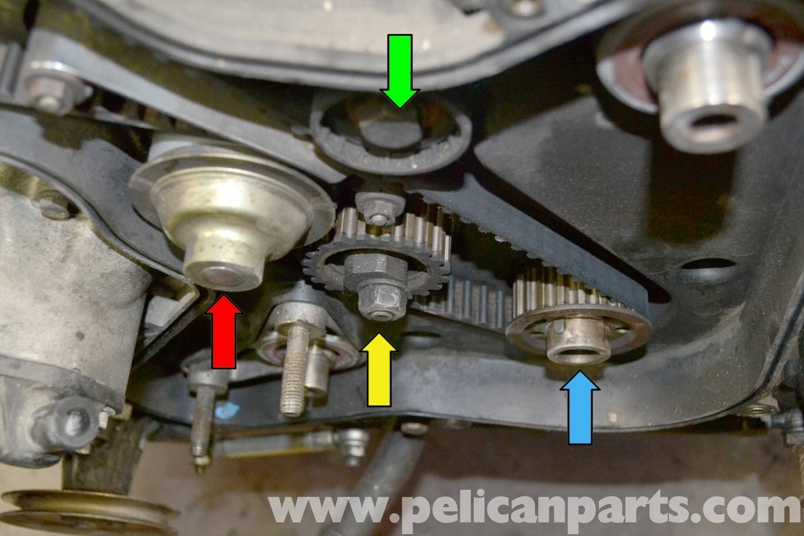 porsche 944 turbo timing belt replacement 1986 1991 pelican rh pelicanparts com timing belt replacement guide toyota timing belt replacement guide book