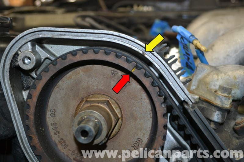 Porsche 944 Turbo Timing Belt Replacement 1986 1991