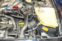 This will give you access to the intercooler to throttle body tube (yellow arrow).
