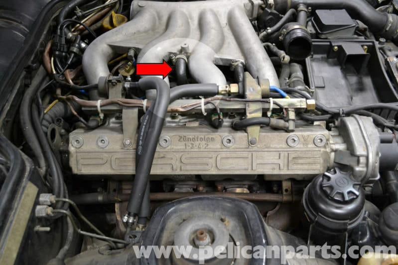 single wire alternator wiring diagram ignition porsche 944 turbo knock sensor replacement  1986 1991  porsche 944 turbo knock sensor replacement  1986 1991
