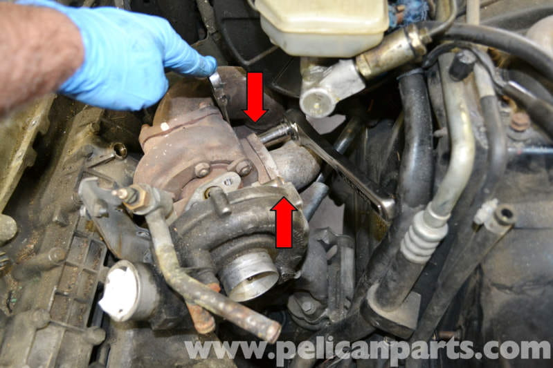 Porsche 944 Turbo Turbo Removal And Replacement 1986 1991 Pelican Parts Diy Maintenance Article