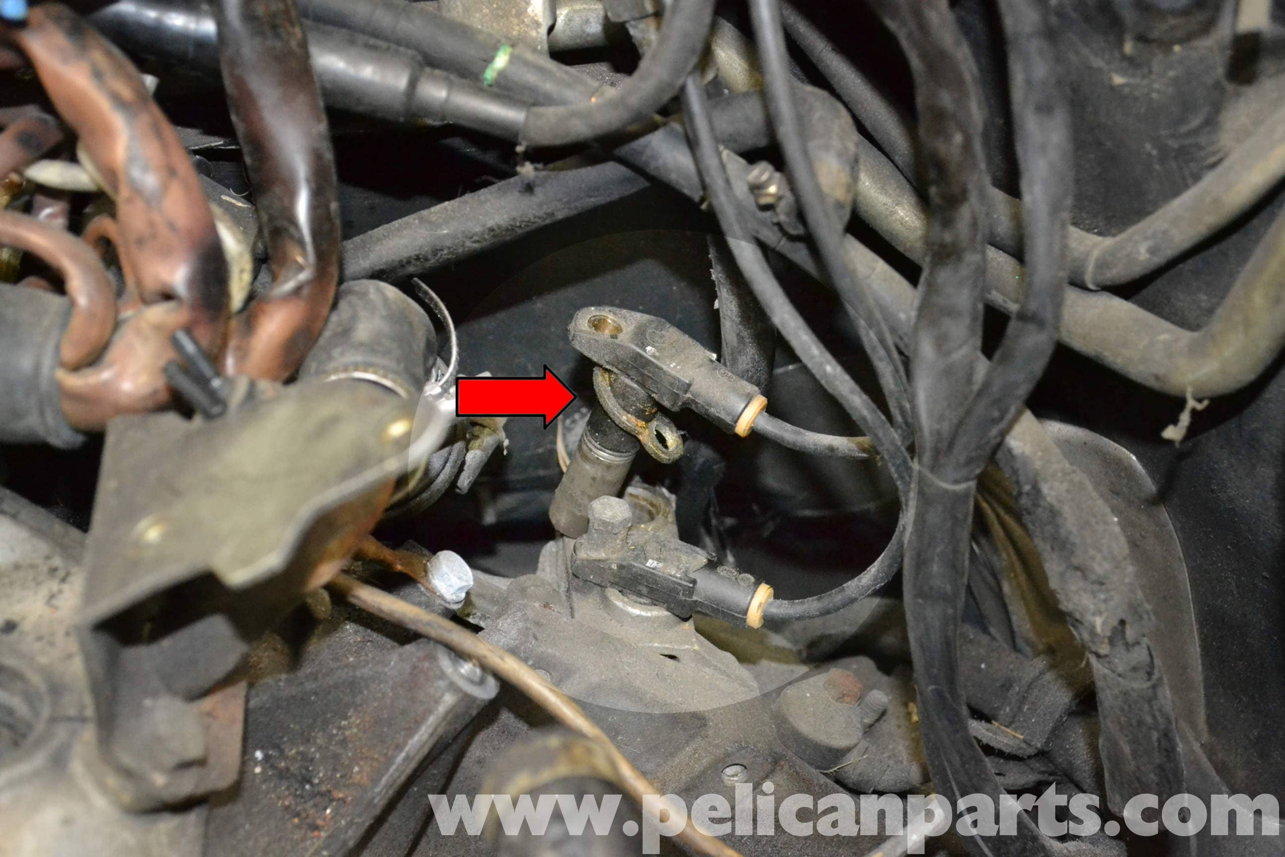 Porsche 944 Turbo Speed Reference Sensor Replacement 1986