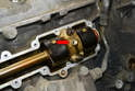 Depending on the year of your vehicle you will find different means of supporting the balance shaft.