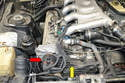 To replace the front seals you must remove the distributor housing from the front of the engine.
