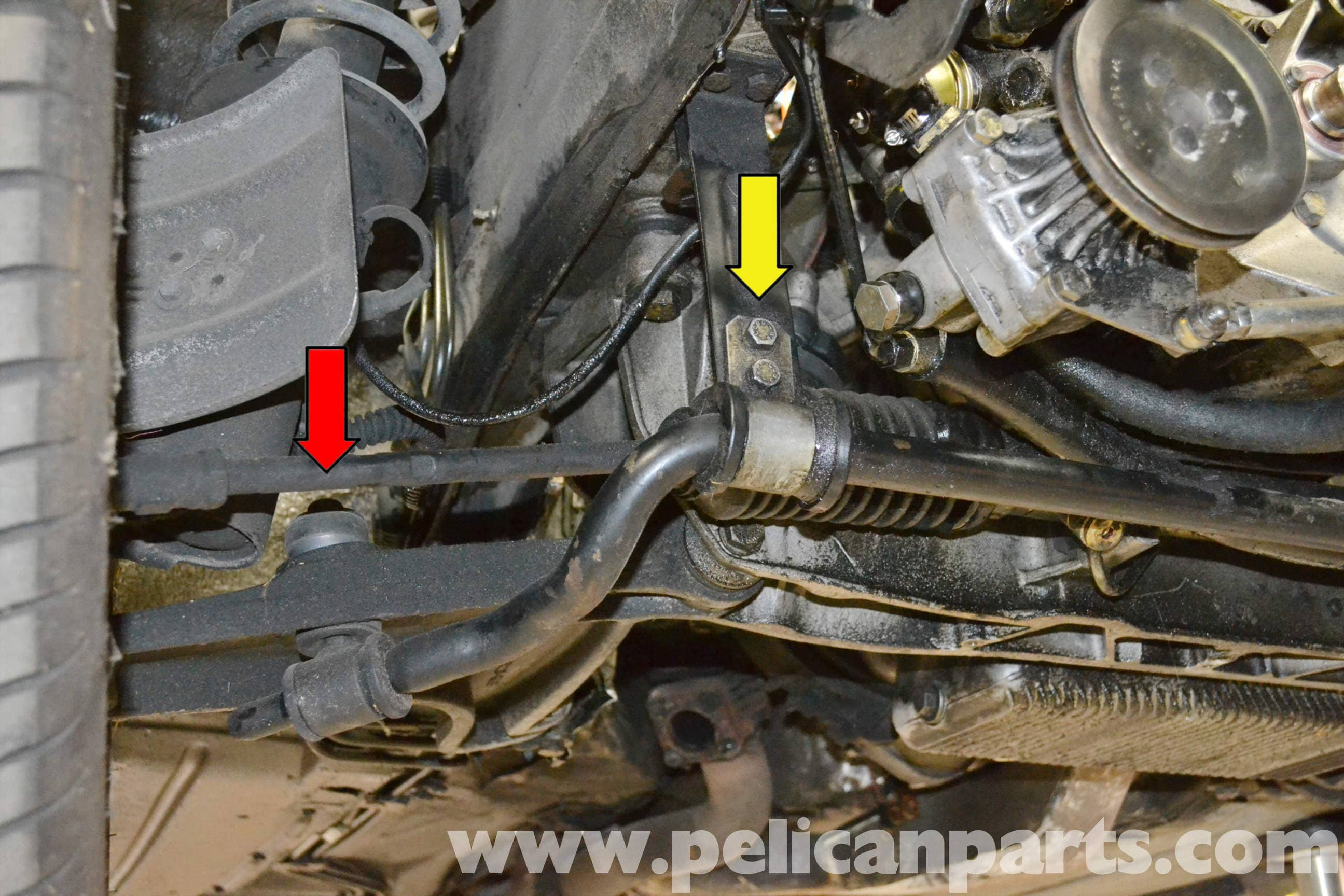 Porsche 944 Turbo Front Sway Bar Bushing Replacement 1986 1991 924 Fan Wiring Large Image Extra