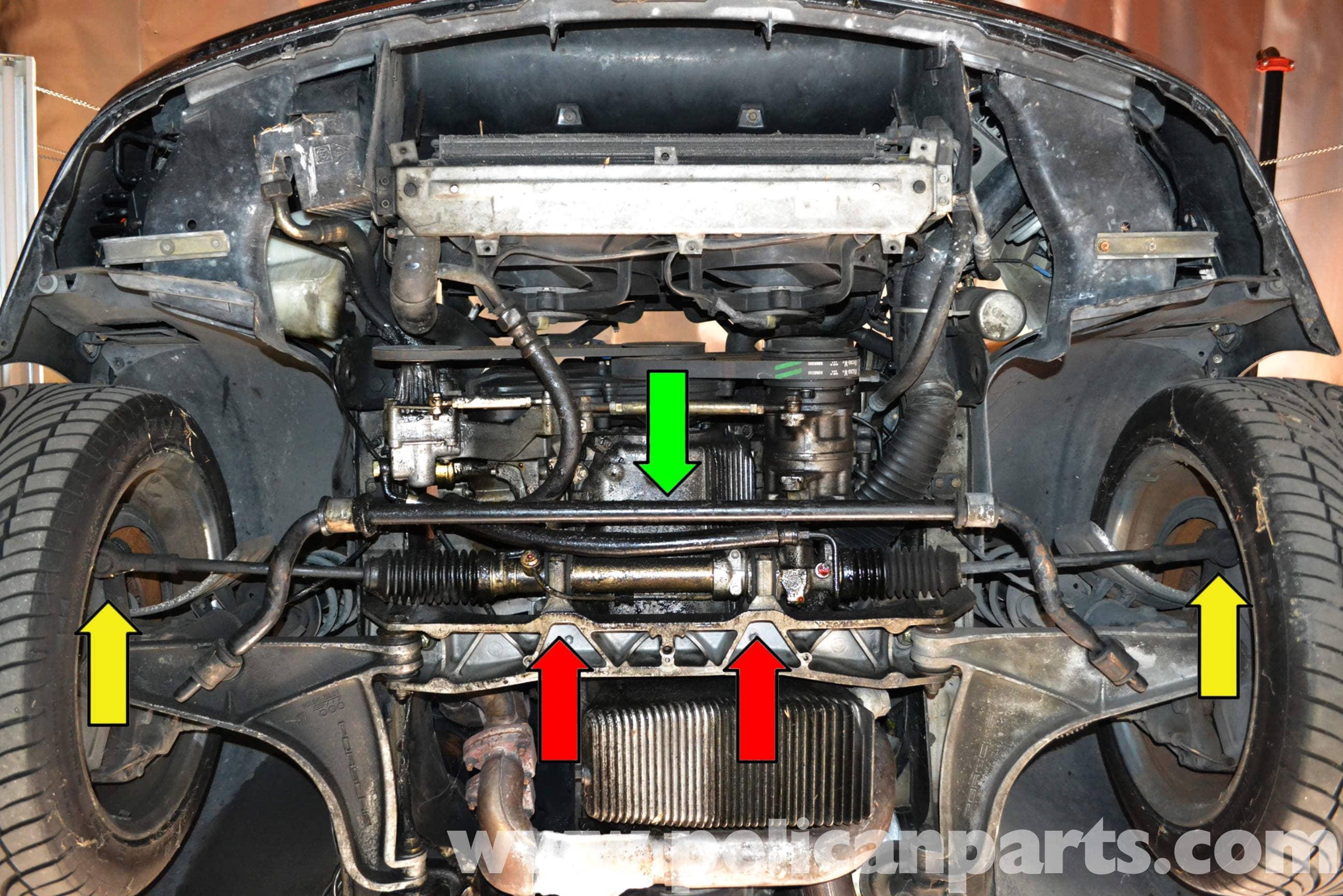 porsche 997 engine diagram    porsche    944 steering rack removal  1986 1991  pelican     porsche    944 steering rack removal  1986 1991  pelican