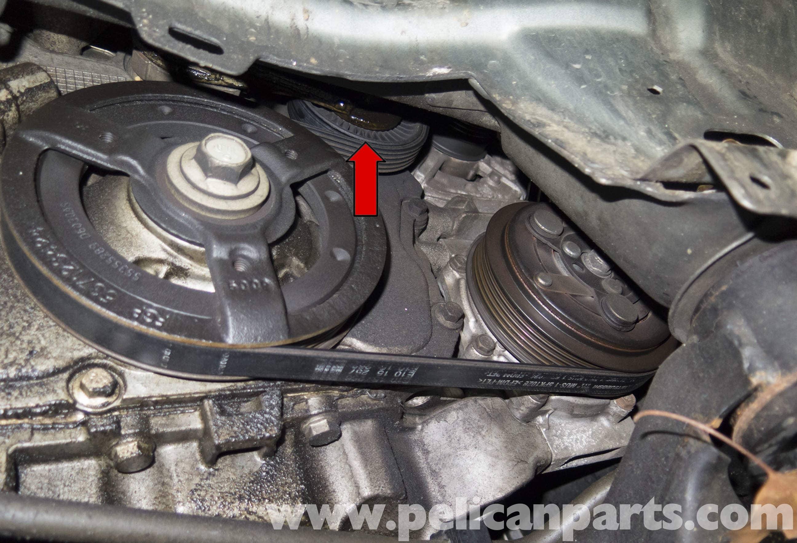 Saab 9-3 Drive Belt Replacement (2006-2007)   Pelican Parts DIY ...