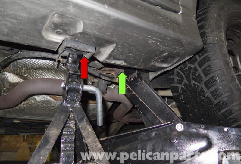 Saab 9-3 Jacking Your Vehicle (2006-2007) | Pelican Parts DIY Maintenance Article