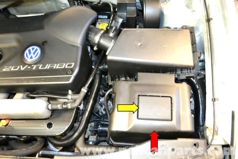 The Battery Has Two Covers: Vw Mk4 Battery Fuse Box Surround At Gundyle.co