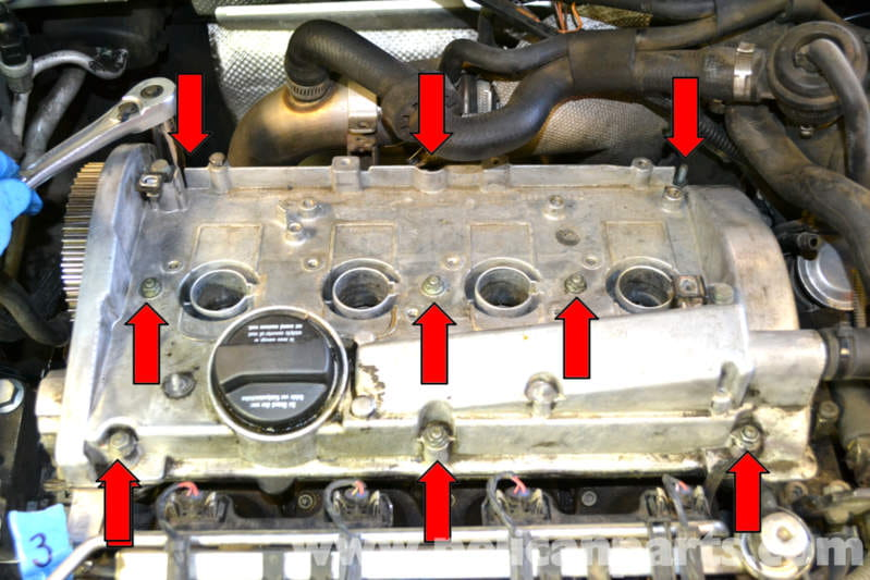 pic09 volkswagen golf gti mk iv valve cover gasket replacement (1999  at crackthecode.co
