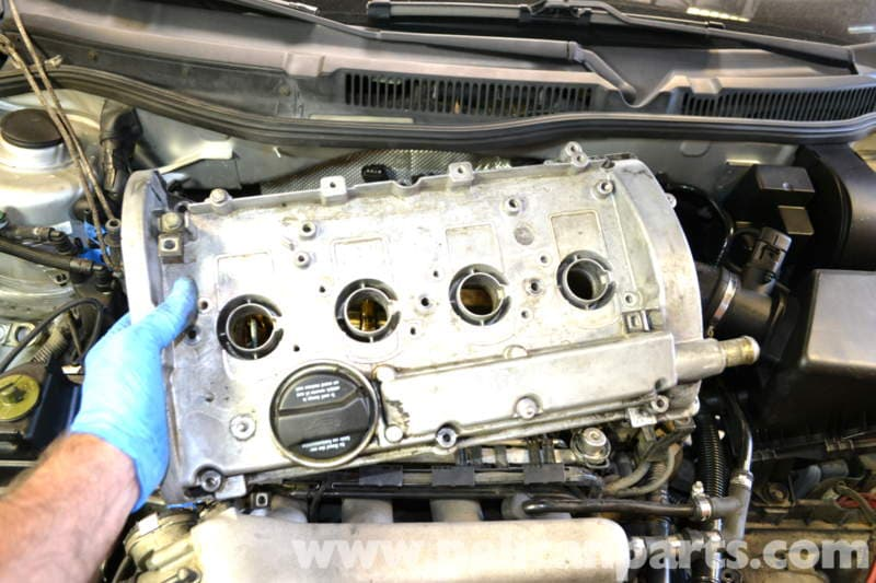 pic12 volkswagen golf gti mk iv valve cover gasket replacement (1999  at crackthecode.co
