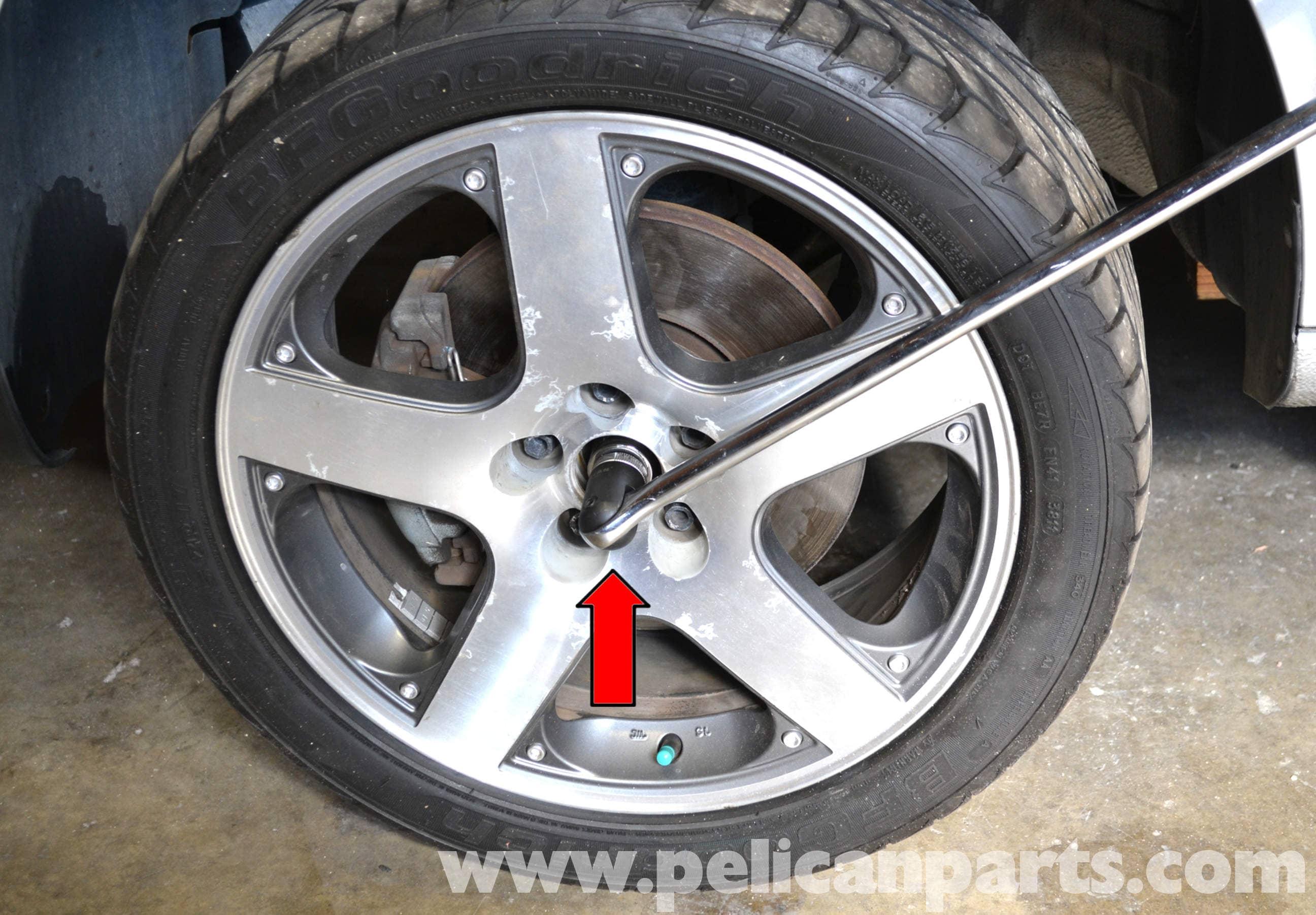 volkswagen golf gti mk iv front wheel bearing replacement