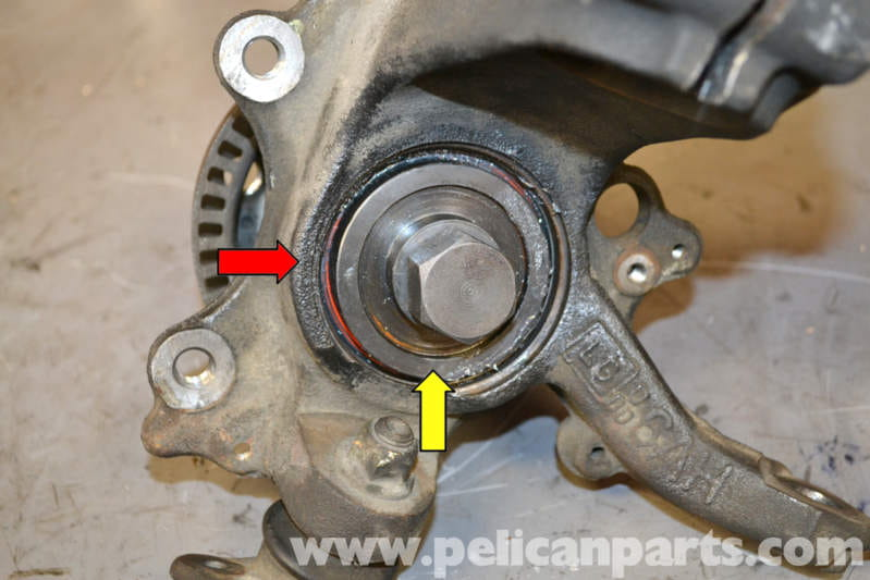 Volkswagen Golf Gti Mk Iv Front Wheel Bearing Replacement 1999 2005 Pelican Parts Diy Maintenance Article