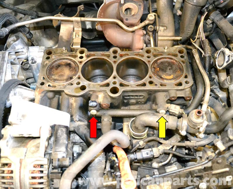 Volkswagen Golf Gti Mk Iv Knock Sensor Replacement 19992005 Rhpelicanparts: 2003 Vw Jetta Knock Sensor Location At Gmaili.net