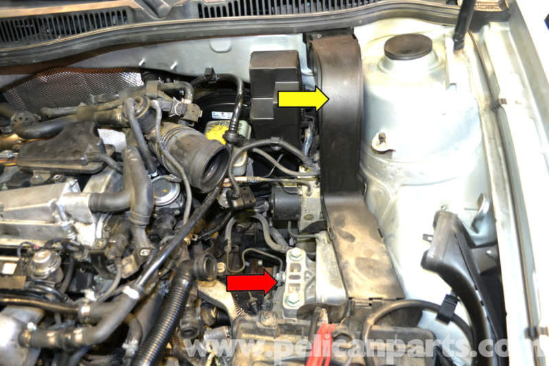 pic08 volkswagen golf gti mk iv engine mount replacement (1999 2005 2005 VW GTI at reclaimingppi.co