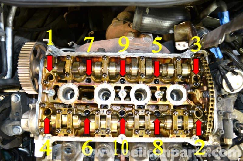 Volkswagen Golf Gti Mk Iv Head Gasket Replacement 1999 2005