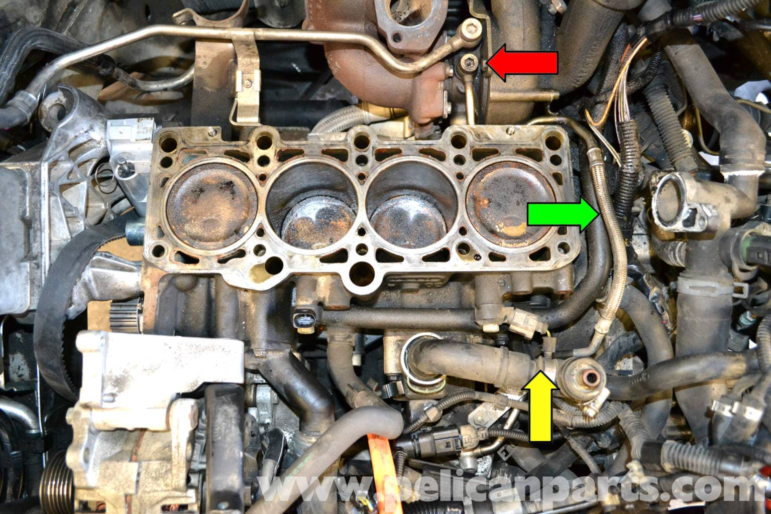 Volkswagen Golf Gti Mk Iv Turbo Replacement  1999-2005