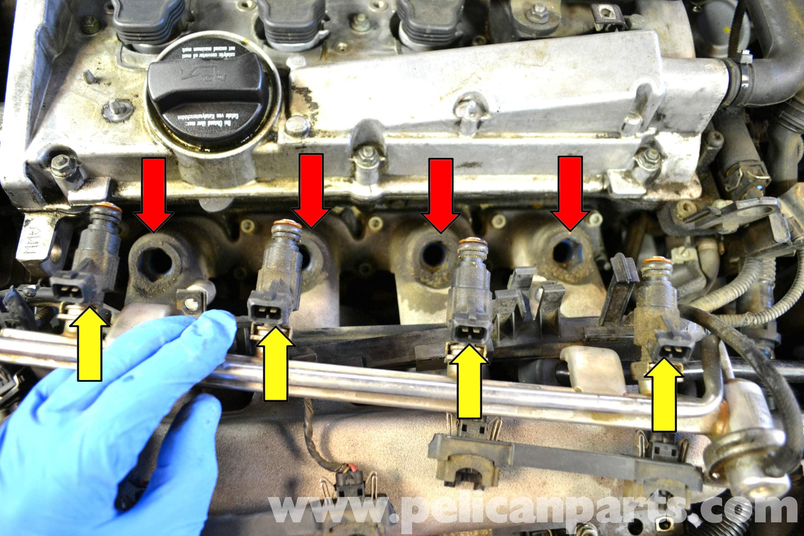 Volkswagen Golf GTI Mk IV Fuel Injector Replacement (1999