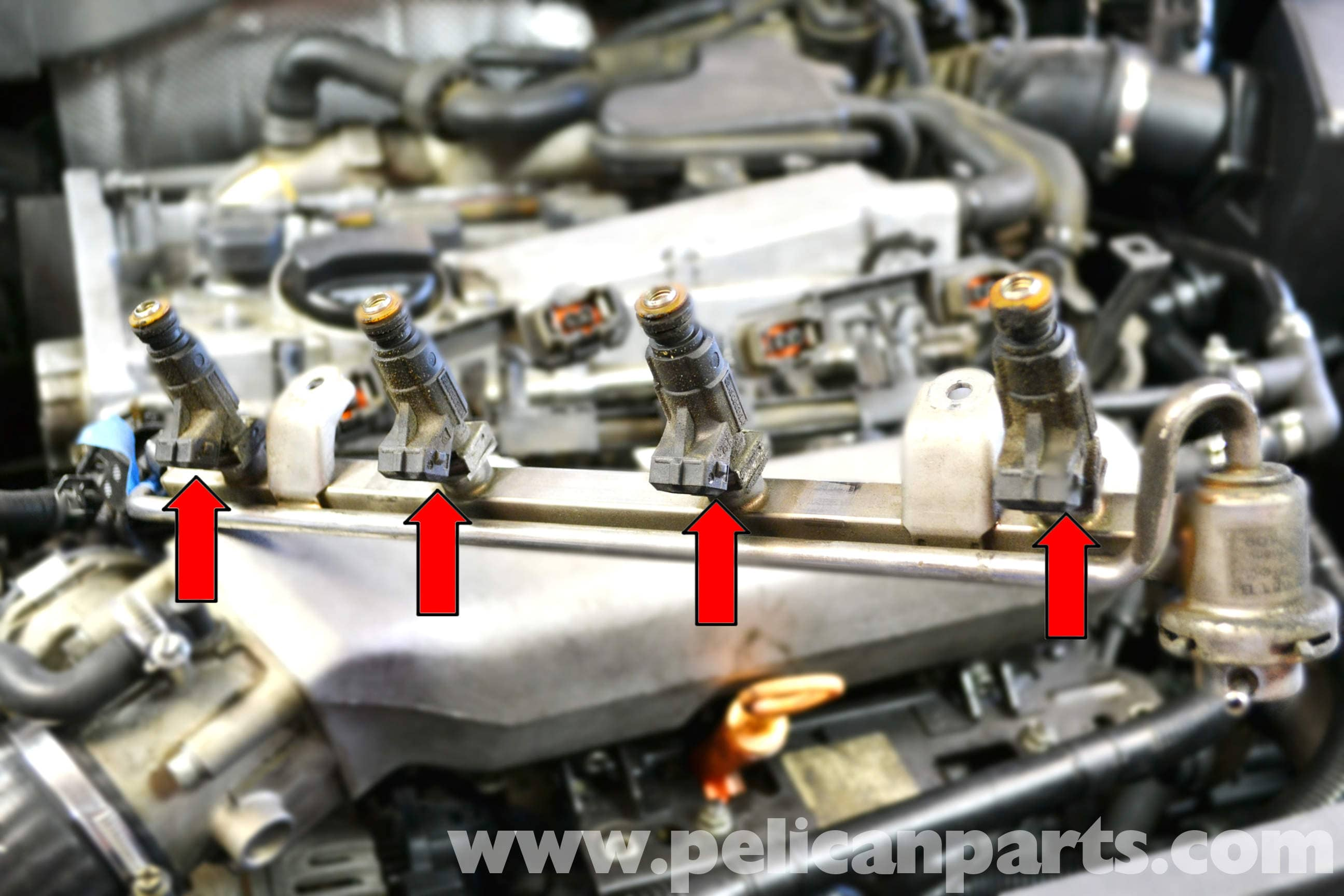 Volkswagen Golf Gti Mk Iv Fuel Injector Replacement 1999 2005 Vw Wiring Diagram Large Image Extra