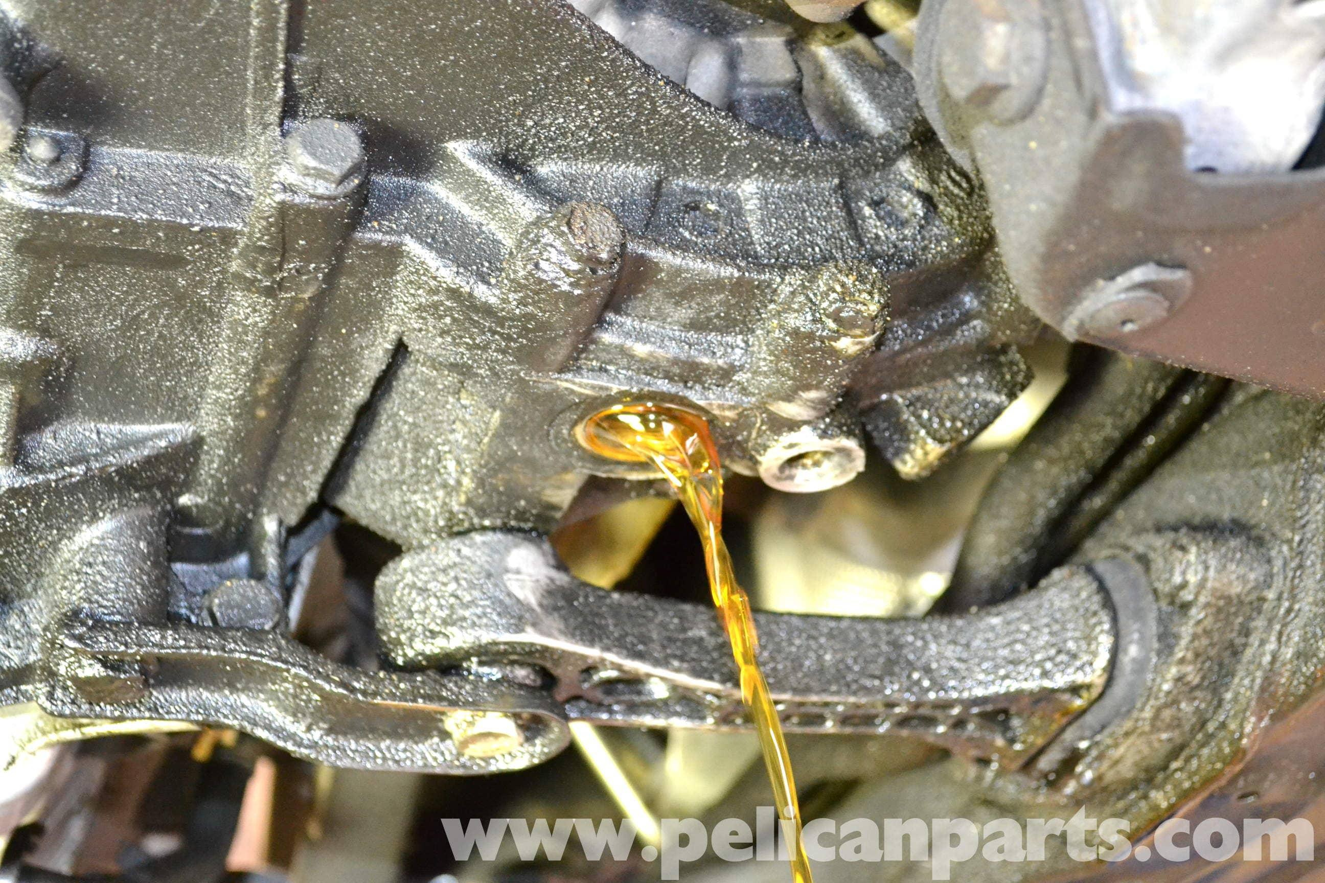 Volkswagen Golf Gti Mk Iv Manual Transmission Fluid Change 1999