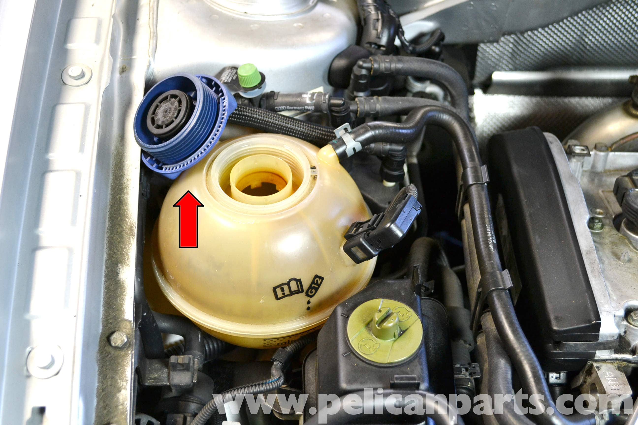 Volkswagen Golf Gti Mk Iv Coolant Flush And Replacement 1999 2005 2010 Jetta Fluids Large Image Extra