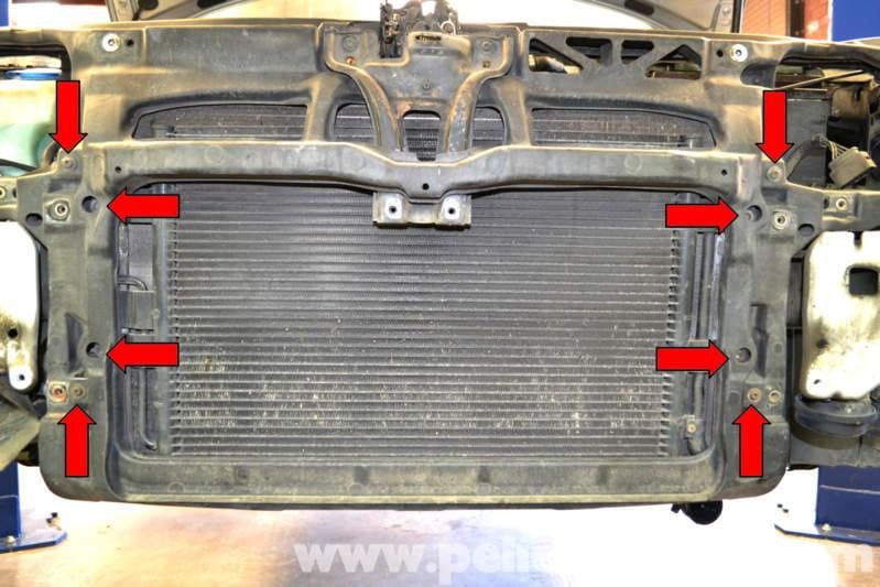 volkswagen golf gti mk iv radiator replacement 1999 2005 pelican parts diy maintenance article