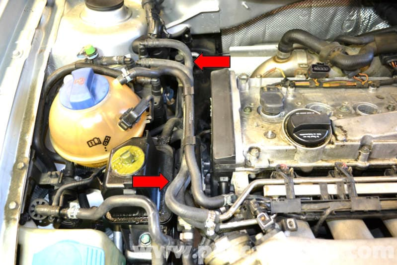 Volkswagen Golf GTI Mk IV Water Pump Replacement (1999-2005) - Pelican Parts DIY Maintenance Article