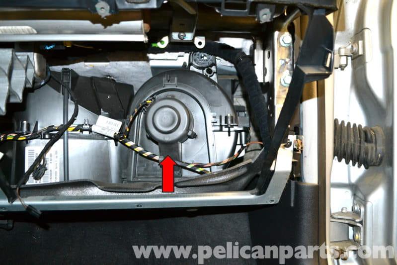 volkswagen golf gti mk iv blower motor and resistor removal  1999-2005