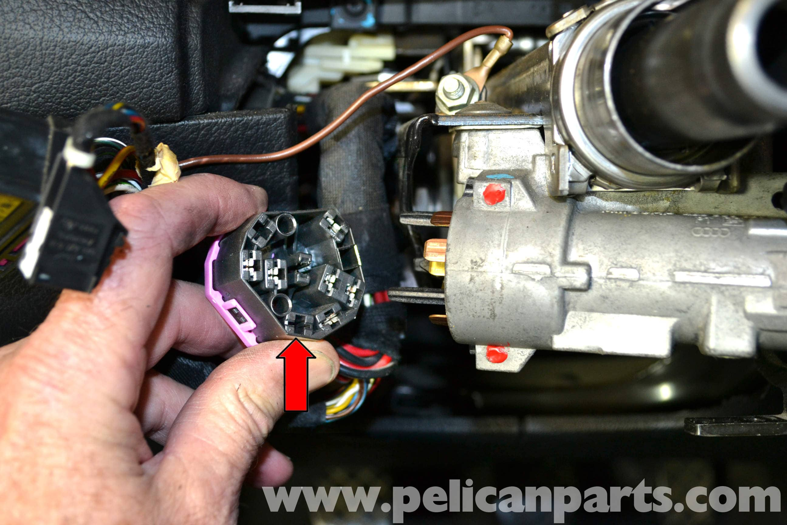 pic06 volkswagen golf gti mk iv ignition switch and lock cylinder vw ignition switch wiring diagram at couponss.co
