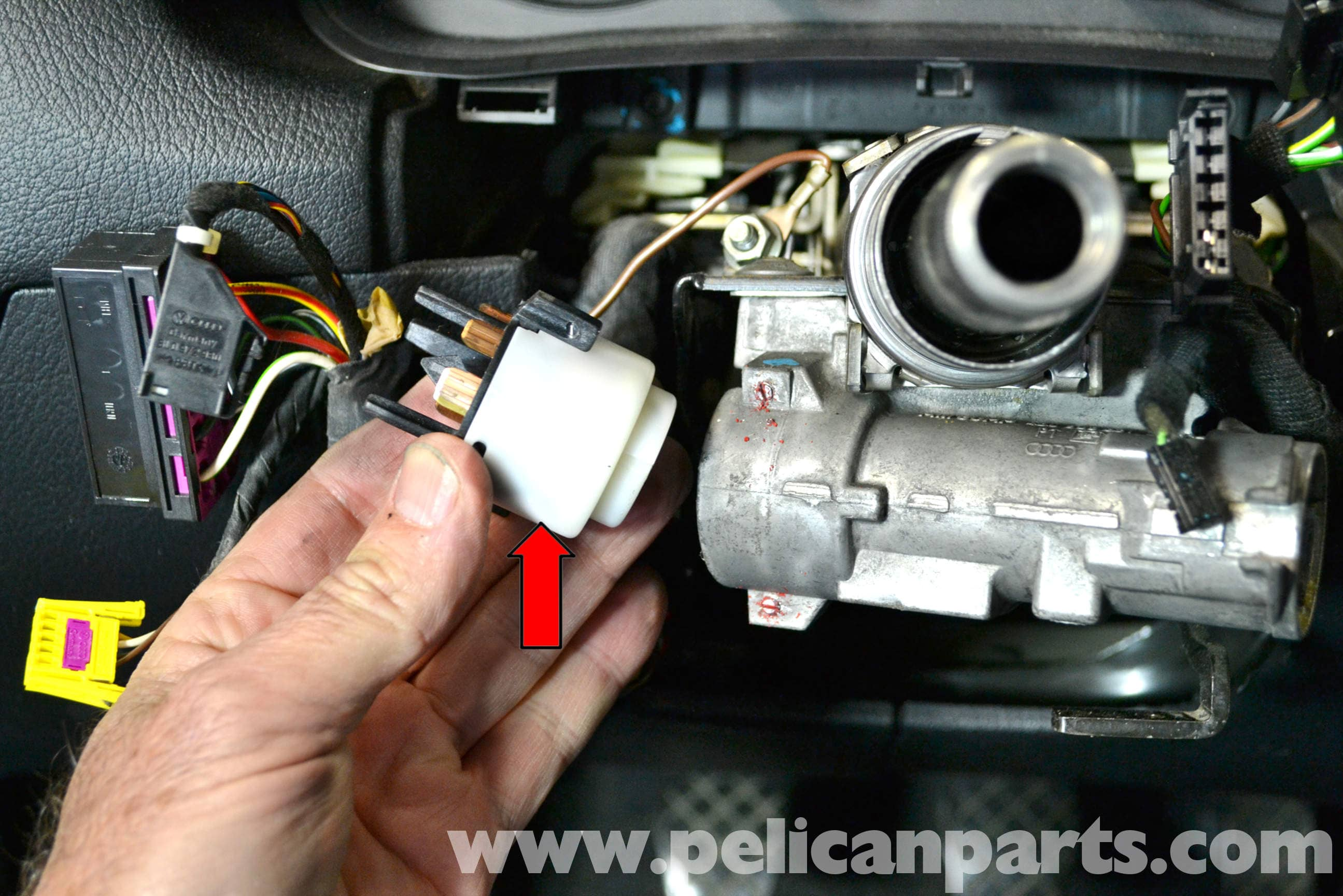 pic08 volkswagen golf gti mk iv ignition switch and lock cylinder