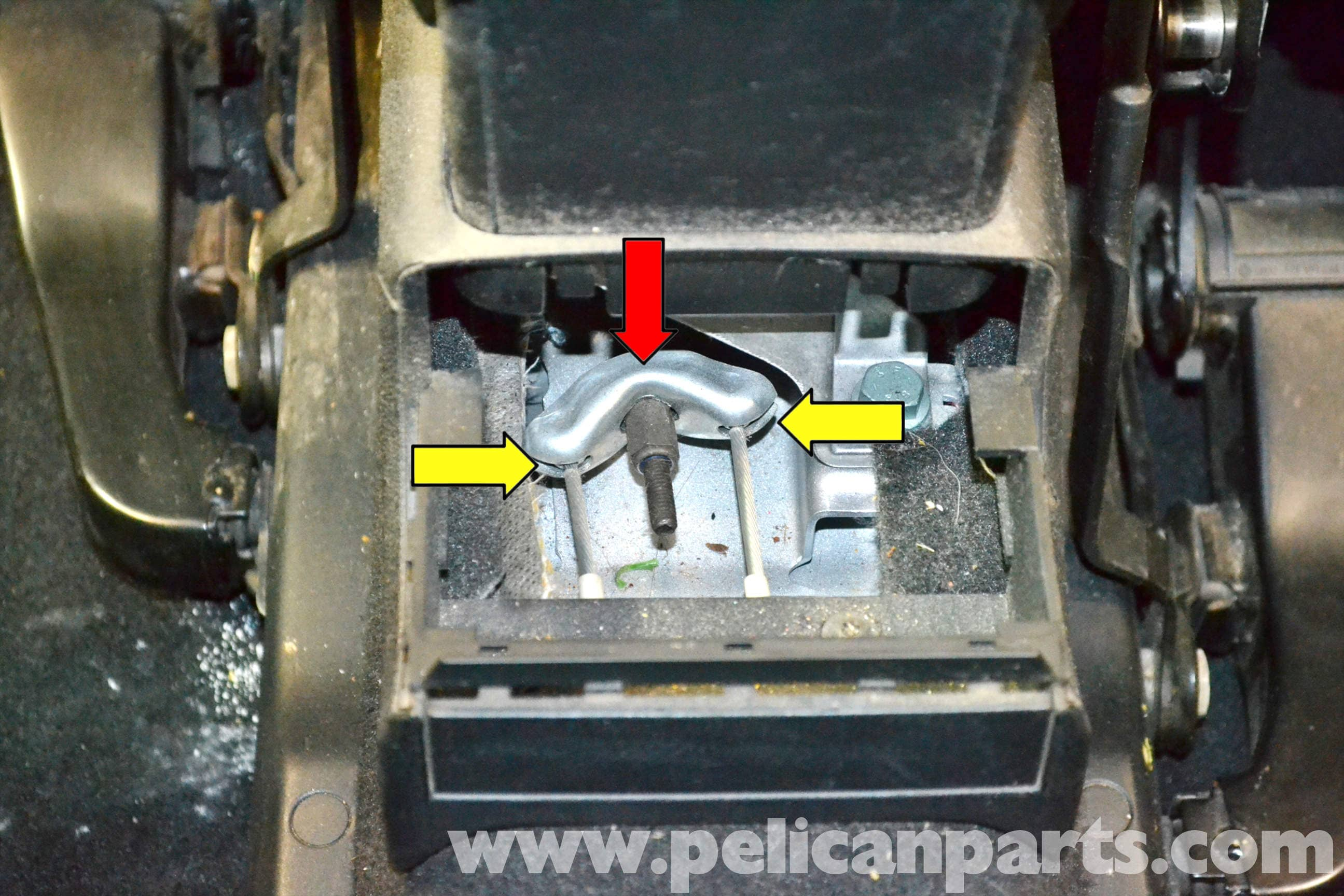 Volkswagen Golf Gti Mk Iv Parking Brake Adjustment And