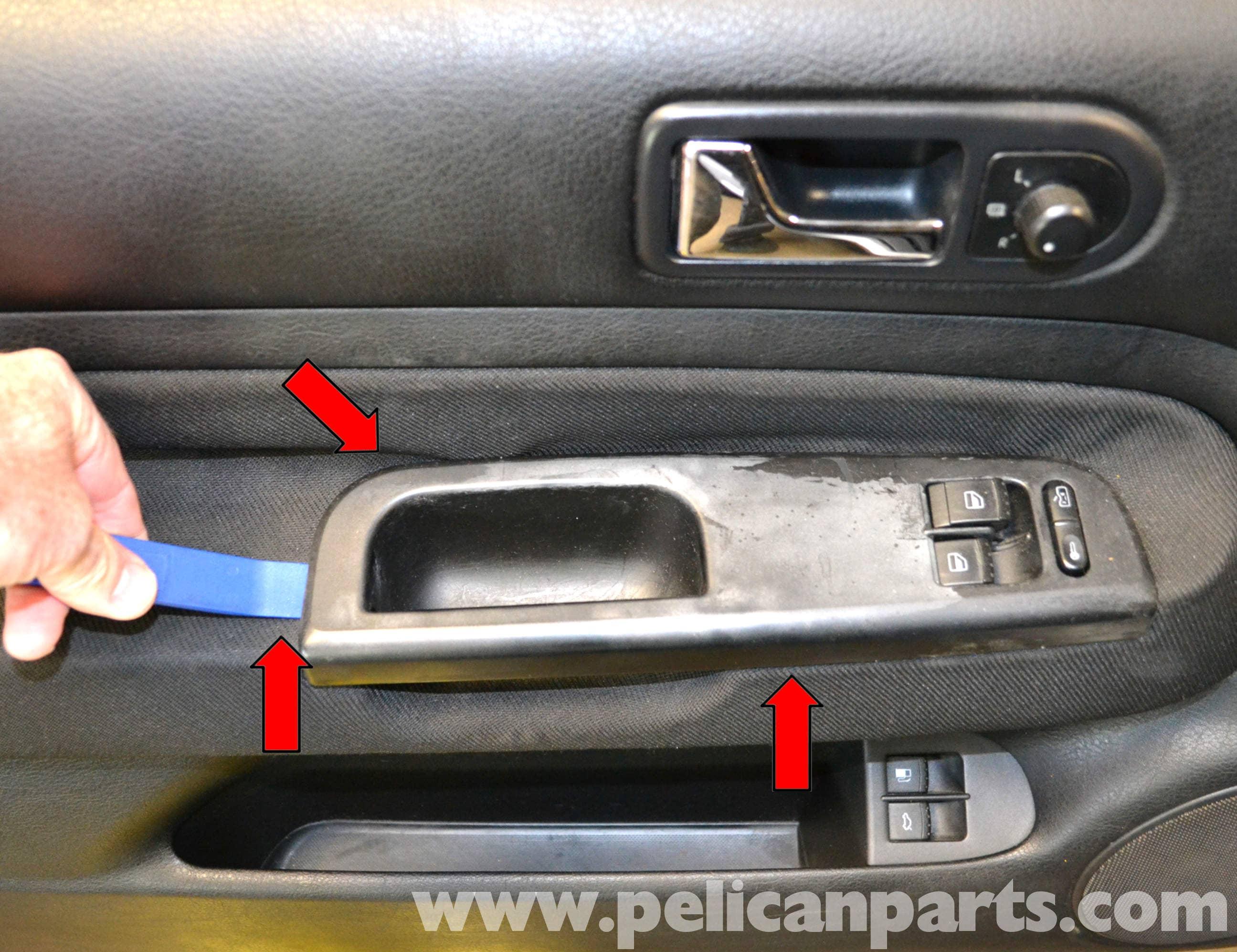Volkswagen Golf Gti Mk Iv Front Door Panel Removal 1999 2005 Pelican Parts Diy Maintenance Article