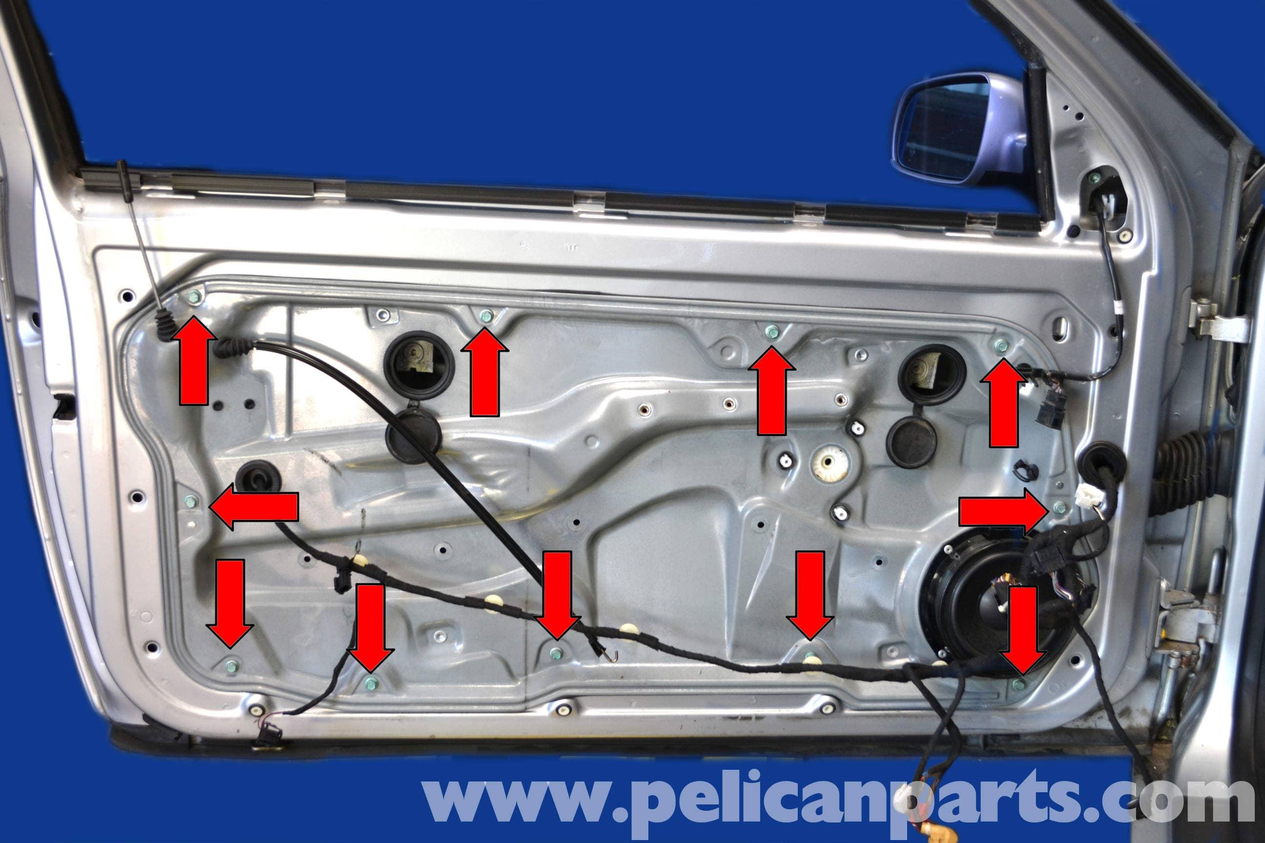 Volkswagen Golf GTI Mk IV Door Lock Replacement (1999-2005 ...
