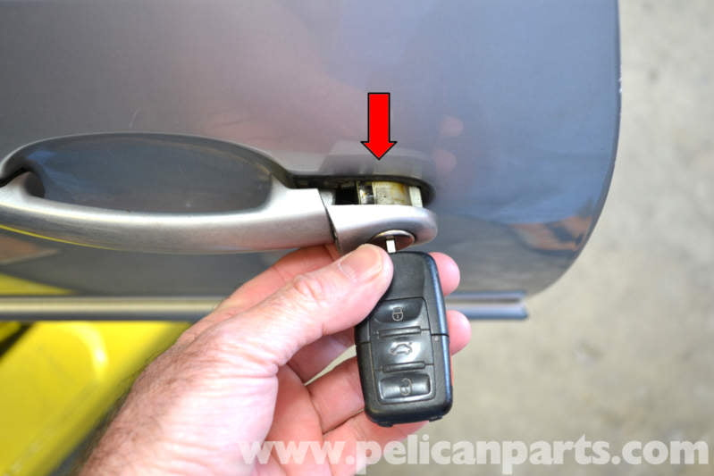 Volkswagen Golf Gti Mk Iv Exterior Door Handle Lock