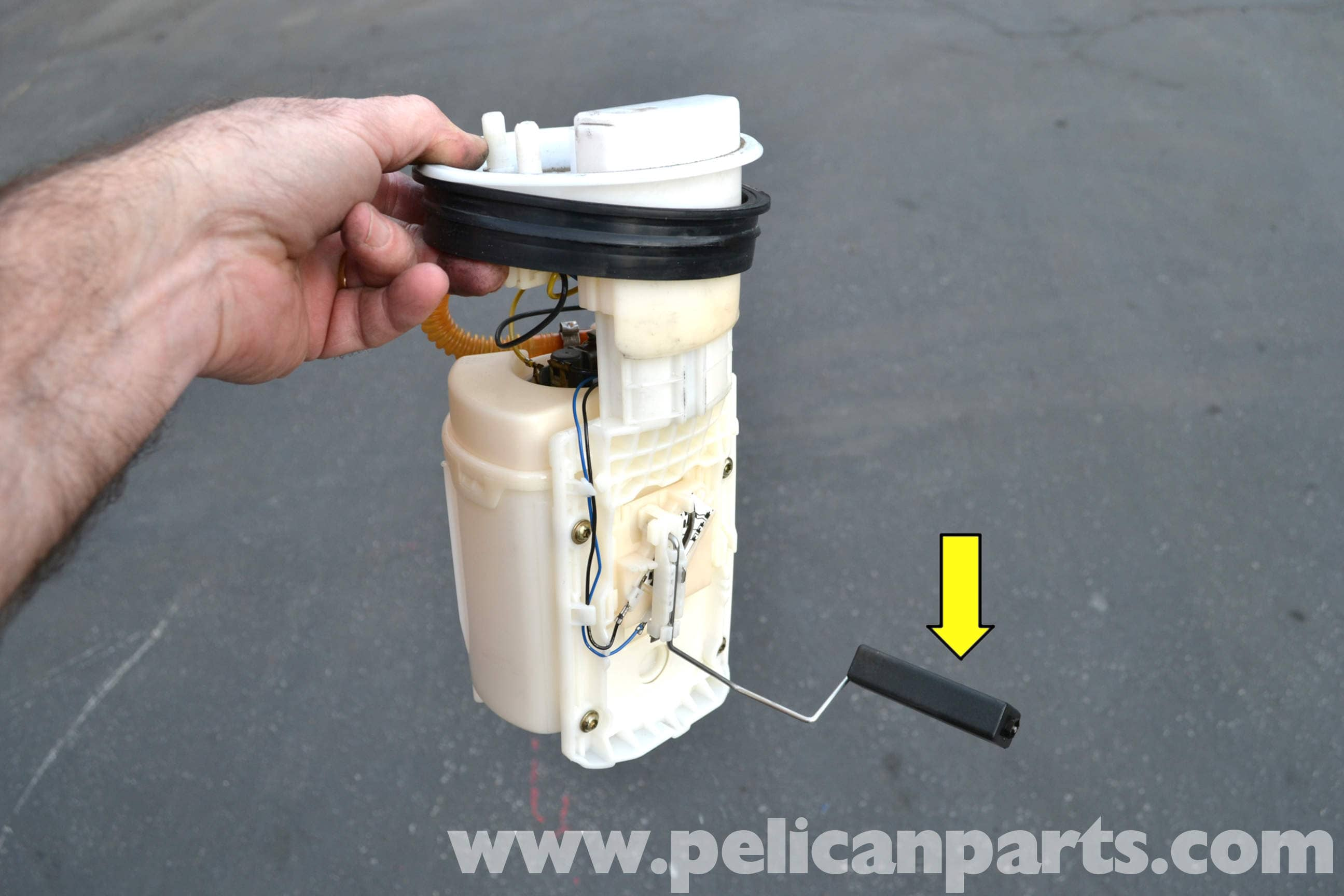 volkswagen golf gti mk iv fuel pump replacement  1999