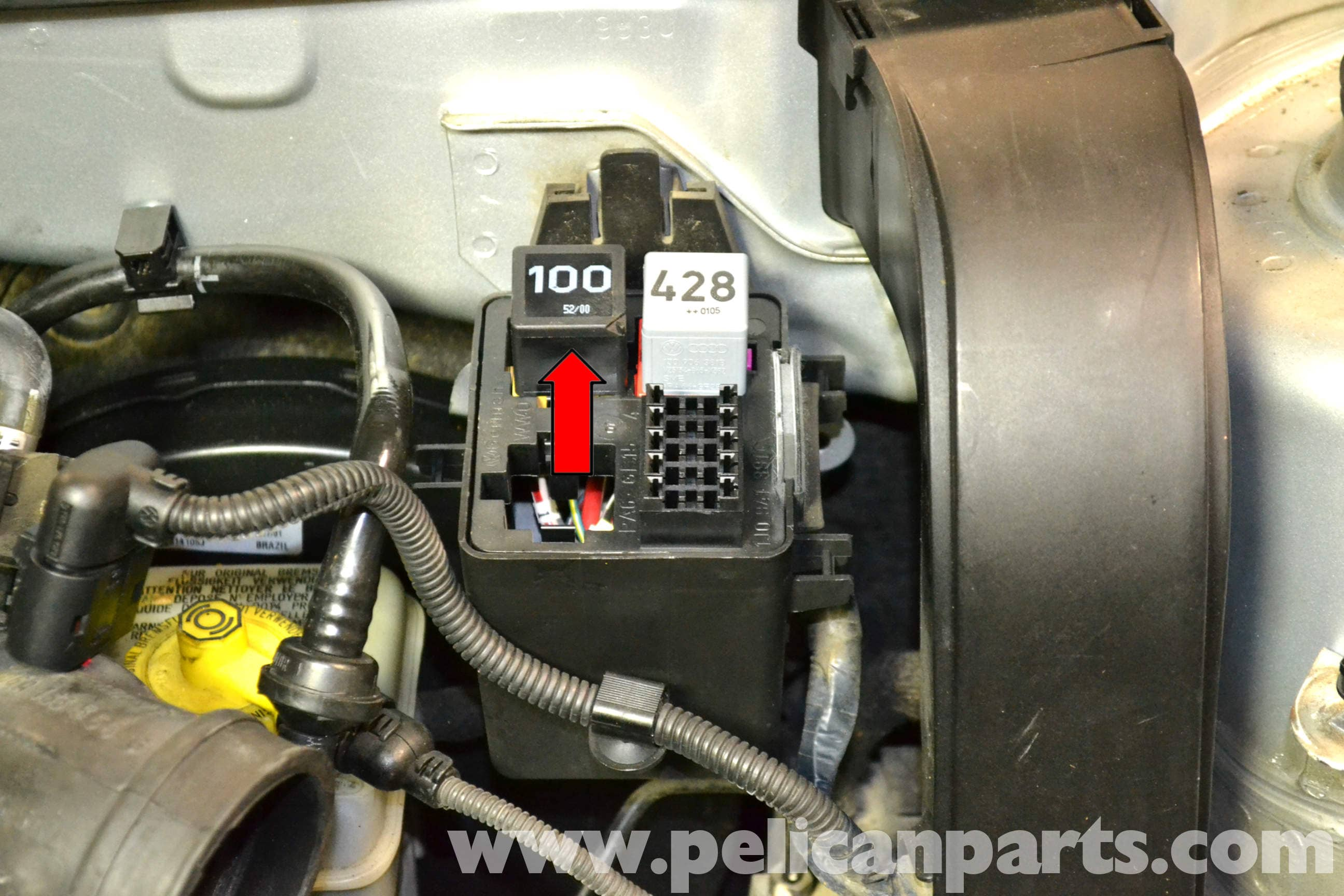 2008 Vw Fuse Box Control Wiring Diagram Touareg Location Volkswagen Golf Gti Mk Iv Auxiliary Air Pump And Hose Rabbit