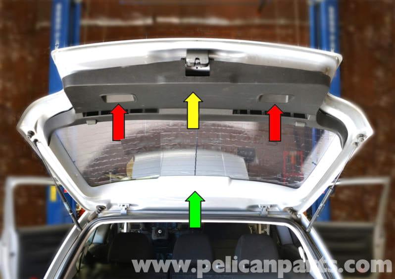 Volkswagen Golf Gti Mk Iv Rear Interior Panel Replacement
